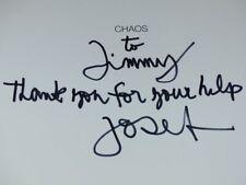 [PHOTOGRAPHIE] JAMES A. FOX (Ag. MAGNUM) CHAOS Signé par JOSEF KOUDELKA EO 1999
