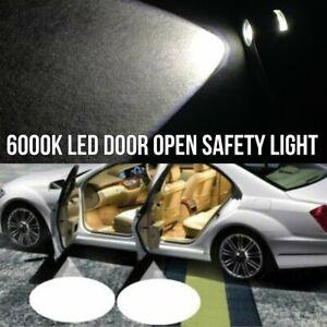 LED Car Door Step Courtesy Welcome Light Shadow Puddle Emblem K1 For Fiat