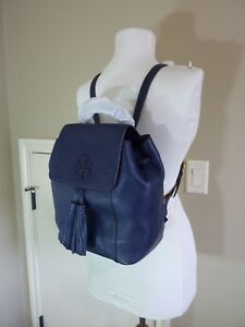 BRAND NEW Tory Burch Mcgraw Backpack in Navy Retail $458