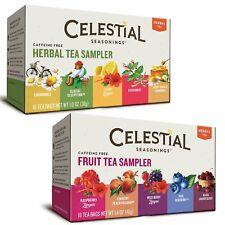 Celestial Seasonings Herbal Tea Flavor Bundle: 2 Boxes; Herbal Tea Sampler, Fr..