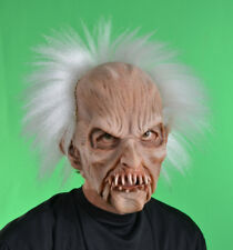Old Man Zombie Fantome Monster Mask Moving Mouth Adult  Halloween Costume Mask