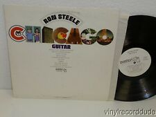 RON STEELE Chicago Guitar LP Ovation OV/14-08 WLP Promo promotional copy album