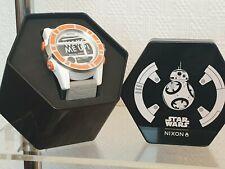 BB-8 Star Wars - Rare Montre Mixte NEUVE en boite - NIXON Multifonction BB-8