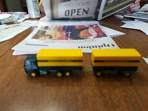 HERPA HO SCALE Truck and Pull behind trailer  Denkhaus   SPEDITION
