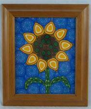 Outsider Art Polymer Design Framed 11x13