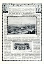 Bubsheim Aldingen Wehingen Harmonika Fabrik Koch Trossingen Reklame 1916 Abb Originalwerbung Vor 1950