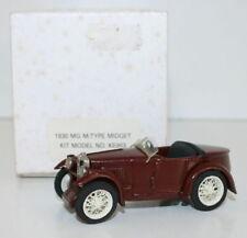RAE Models 143 Scale - 1930  MG M Type Midget - Built Kit - Brown