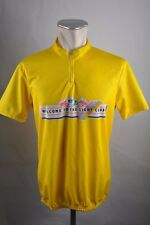 The light Club promo vintage Cycling Jersey bike rueda camiseta talla XL 54cm g2