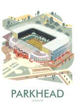 Parkhead CelticFootball Club Art Deco Blank Birthday Fathers Day Card