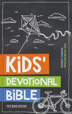 Kids' Devotional Bible Over 300 Devotions AGES 6-10 BRAND NEW!!!