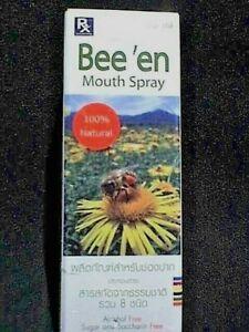 Mouth Spray Bee En Antibacterial Inflammatory Tonsil Bad Breath Camomile Pollen