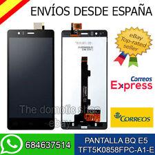 PANTALLA LCD + TACTIL BQ E5 TFT5K0858FPC-A1-E TRULY NEGRO NEGRA