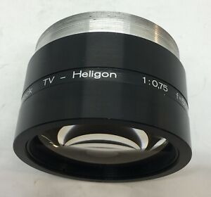 Rodenstock TV-Heligon Lens 1:0,75 f=50mm Made in Germany