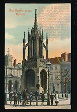 Wilts Wiltshire DEVIZES The Market Cross local children pre 1919 PPC