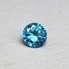 Unheated 0.12ct 2.5mm Sea Blue Sapphire Round Shape AAAAA VVS Loose Gemstones