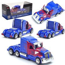 1:32 Transformers Optimus Prime Diecast Model Metal Decor Kid Child Licensed Toy