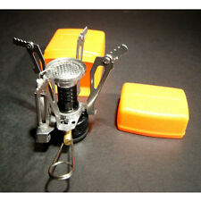 Ultralight Backpacking Canister Travel Camp Stove Burner with Piezo Ignition New