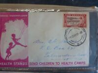 1948 NEW ZEALAND  HEALTH  STAMP FDC FIRST DAY COVER