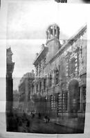 Old Builder 1894 Architecture Entrance Hall Institute Chartered Accou 19th