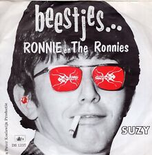 7inch RONNIE EN THE RONNIES beestjes HOLLAND DELTA REC EX (S0497)