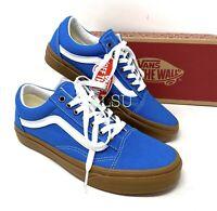 VANS Old Skool Gum Mediterranean Canvas Blue Men's All Size Sneakers VN0A4U3BWYZ