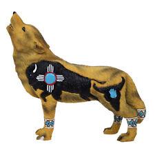 Wolf Spirit Collection - Buffalo Spirit Wolf Figurine - - New