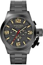 TIMECODE CHRONOGRAPH TC-1007-05 SAPPHIRE CRYSTAL BLACK BNWT 2 YR WARRANTY BOXED