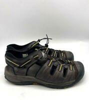 New Balance Appalachian Mens Closed Toe Water Hiking Sandals Brown Size 12 4E