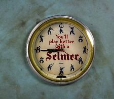 Vintage Advertising Clock Fridge Magnet 2 1/4
