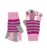 DÖLL® Mädchen Strick Fingerhandschuhe Handschuhe Maskotchen NEU! So süß!