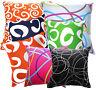 Curve Wave Line Print Pure Cotton Canvas Cushion Cover/Pillow Case*Custom Size