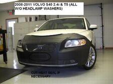 Lebra Front End Mask Bra Fits Volvo S40 2.4i & T5 w/o head lamp washer 2008-2011