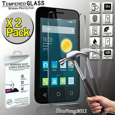 """2 Pack For Alcatel Pixi 3 (4) 4"""" Genuine Tempered Glass Film Screen Protector"""
