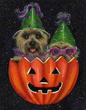 "Precious Pet Garden Flag - Cairn Terrier Peek-a-Boo 12"" x 18"" ~ Charity!"