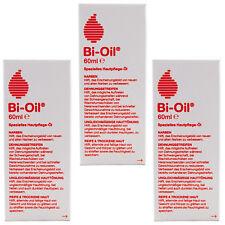 Bi Oil Hautpflege bei Dehnungsstreifen, reife Haut, trockene Haut, Narben 3x60ml