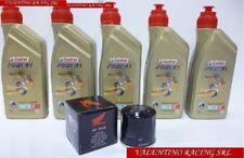 KIT TAGLIANDO HONDA CRF 1000 AFRICA TWIN 5 LITRI olio CASTROL + FILTRO OLIO ORIG