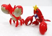 "FAKES/FALSI-Pokemon monster evoluzioni - ""CORPHISH e CRAWDAUNT"" - n° 341 e 342"