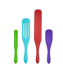 Mad Hungry 4-pc Silicone Spurtle Set - Multi