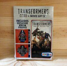 Transformers: Age of Extinction DVD KREO OPTIMUS PRIME AND GALVATRON KREON TRU
