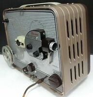 Kodak Brownie 8mm Movie Projector  f/1.6 Lumenized Lens Model 1~TESTED & RUNS