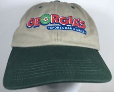Georgias Sports Bar Grill Cap Football Drinking Beer Hat Boat Drink Party