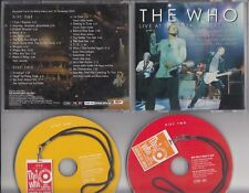 THE WHO Live At The Royal Albert Hall 2-CD RARE PROMO COPY MINT STEAMHAMMER GERM
