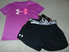~NWT Girls UNDER ARMOUR Outfit! Size YXS/6X Super Cute:)!
