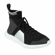 NWT DIOR HOMME Black Knit Color Block Lace Up B21 Sock Sneakers Shoes Size 9/42