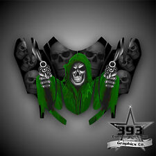 Arctic Cat Firecat Sabercat F5 F6 F7 2003-2006 Graphics Decal Reaper Hood Green