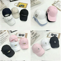 New Mens Womens Baseball Cap Hip-Hop Hat Adjustable Snapback Sport Unisex