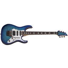Schecter Banshee-6 FR Extreme Ocean Blue Burst OBB NEW Guitar + Free Gig Bag