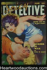 """Spicy Detective"" June 1935  Ward Cover, Robert Leslie Bellem"