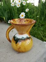 VINTAGE MIDCENTURY MODERN CALIFORNIA 250 POTTERY CERAMIC PITCHER