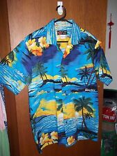 As New - Genuine Vintage Mens Hawaiian Shirt - SZ M - 100 to 105 cm